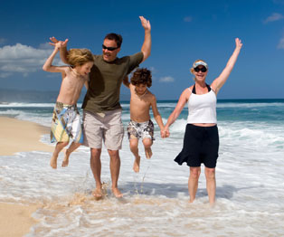 Familia en Puerto Vallarta