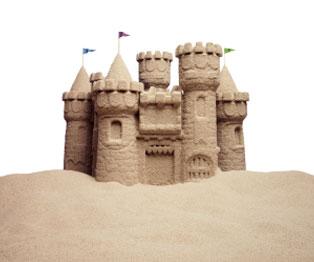 Castillos de arena en Riviera Nayarit